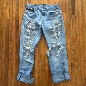 Levi's 501 Denim Jeans
